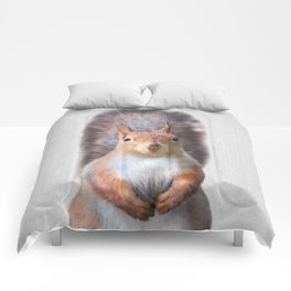 Squirrel - Colorful Comforters