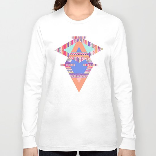 TRIBAL CRAYON / Long Sleeve T-shirt