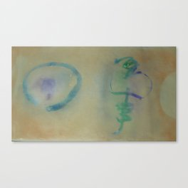 Buji 2  / Painted by Terrance Keenan Canvas Print