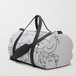 Peanuts Charlie Brown Duffle Bag