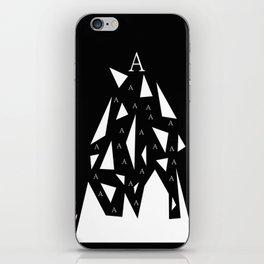 Triangle A iPhone Skin