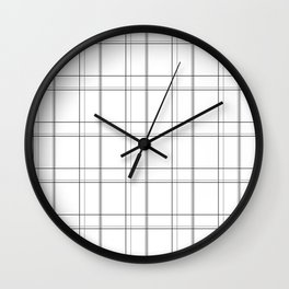 Minimal grid Wall Clock
