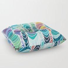 Rhythms of the Islands Floor Pillow