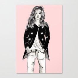 Yvette Canvas Print