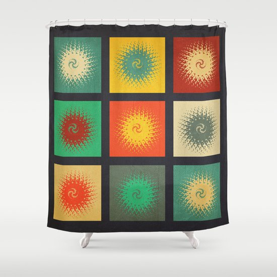Textures/Abstract 90 Shower Curtain