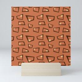 Vintage Abstract Pattern 2 Mini Art Print