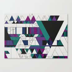 Triangled! Canvas Print