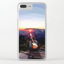 Fresh Air #4 Clear iPhone Case