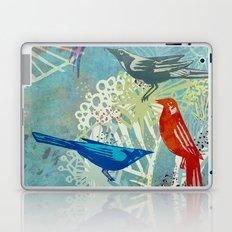 Birds in the backyard. Laptop & iPad Skin