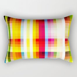 classic multicolored retro pattern Rectangular Pillow