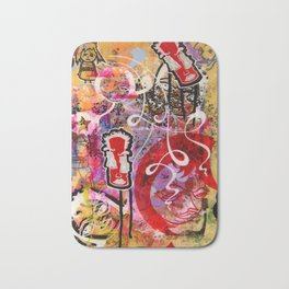 An Expose Of Uncalculated Whimsy Bath Mat