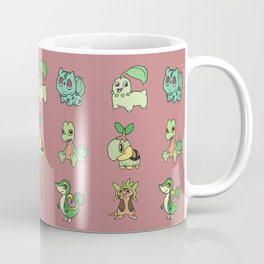 Grass Starters Pattern Coffee Mug