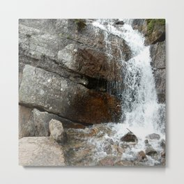 Rocky Mountain Cascade Metal Print