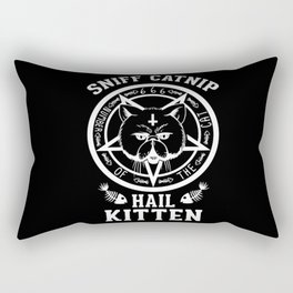 Sniff Catnip - Hail Kitten Rectangular Pillow