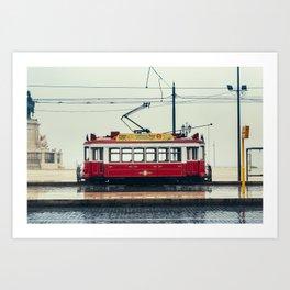 Tram number 6 | Electrico 6. Lisboa, Portugal Art Print