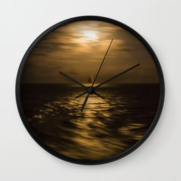 I'll Sail Away Wall Clock