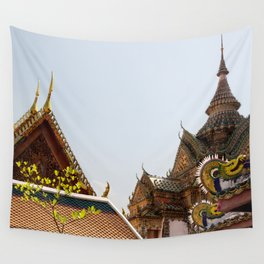 Thai Buddhist Temple Wall Tapestry