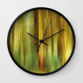Woodland Walk Wall Clock