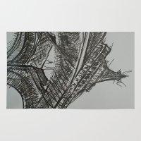 eiffel Area & Throw Rugs featuring Eiffel by Esteban Garza