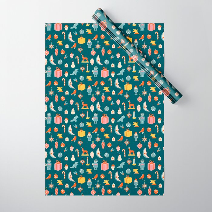 Christmas vintage toys Wrapping Paper