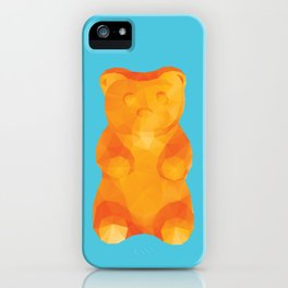 Gummy Bear Polygon Art iPhone Case