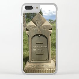 We Remember You Still Clear iPhone Case