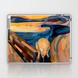 Curves - O Grito Laptop & iPad Skin