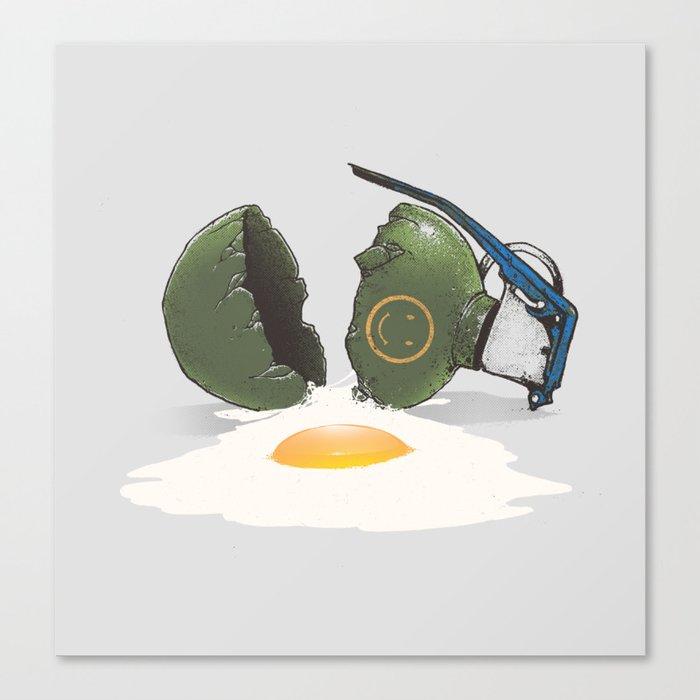 Eggsplosion Canvas Print