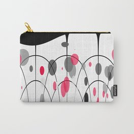 Spotted geometric pattern Carry-All Pouch