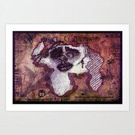 "Venezuela ""El Nazareno"" Art Print"