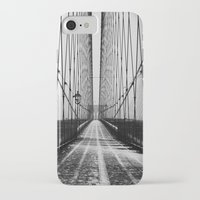 brooklyn iPhone & iPod Cases featuring Brooklyn  by Line Berre
