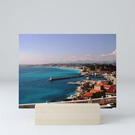 Port of Nice France Mini Art Print