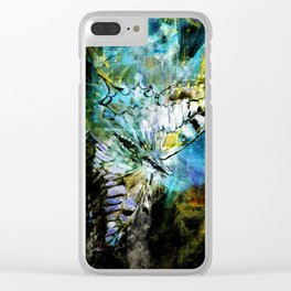 The birth of the butterfly Clear iPhone Case