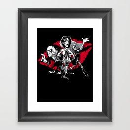 Rocky Horror Gang Framed Art Print