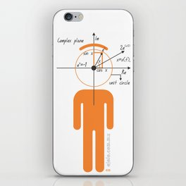decaf euler iPhone Skin