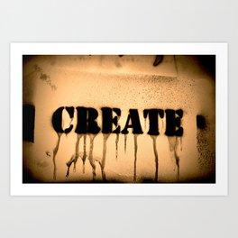 Create 2 Art Print