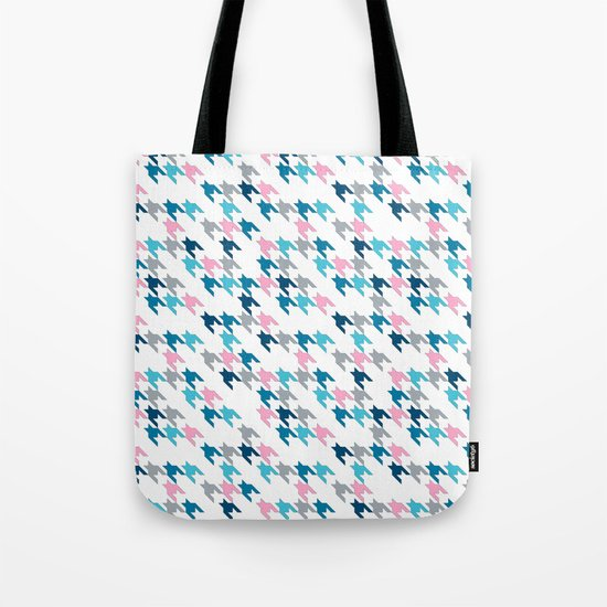 Pink Tooth Tote Bag