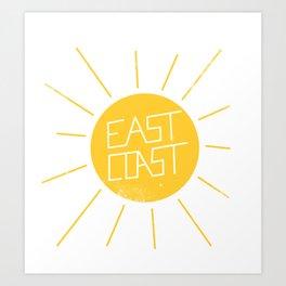 East Coast Sun Kunstdrucke