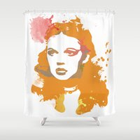 dorothy Shower Curtains featuring Dorothy by BIG Colours