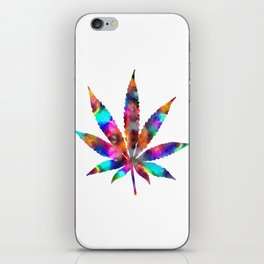Cannabis Rainbow Design (125) iPhone Skin