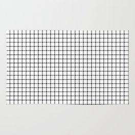 Dotted Grid Rug