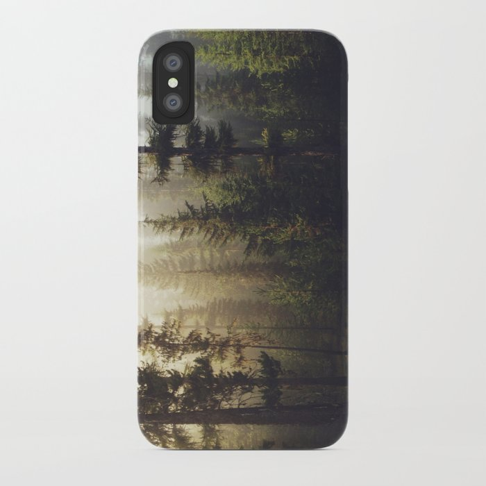 Sunrise Forest iPhone Case