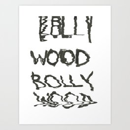 Bollywood Scan Art Print