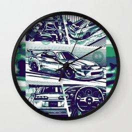 Supra 2jz  Wall Clock
