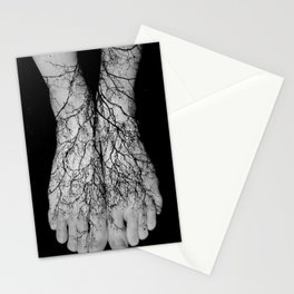 Our roots lie within our veins. Stationery Cards