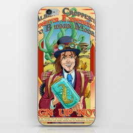 Albert Cropper's Monster Expeditions iPhone Skin
