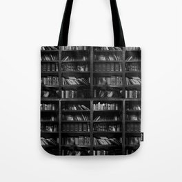 Antique Library Shelves - Books, Books and More Books Tote Bag