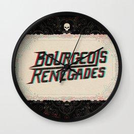 Bourgeois Renegades Wall Clock