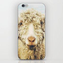 Curly I iPhone Skin