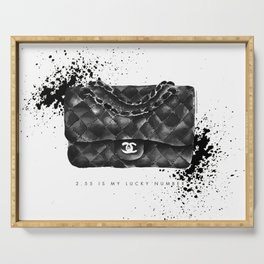 Classic 2.55 Quilted Clutch · Classic Purse · Fashion Bag · Designer Purse Serving Tray